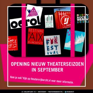 Opening Theaterseizoen 2017-2018 Theater Vrijburcht